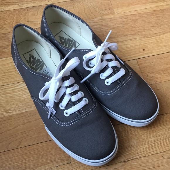 Vans Shoes | Authentic Lo Pro Grey Vans